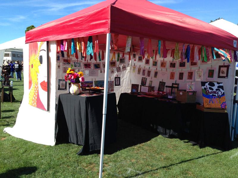 Dannaj Art At Newtown Arts Festival September 13 – 14, 2014