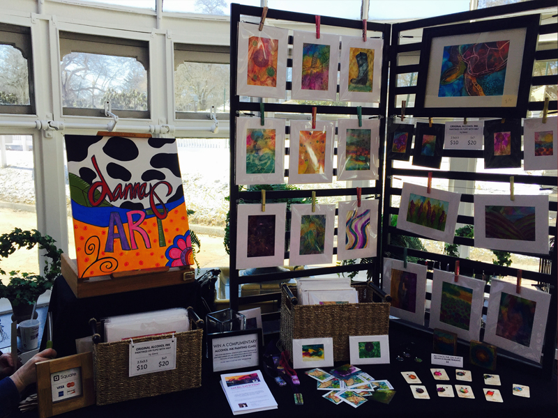 Tarrywile Spring Artisan Fair — Eclectic Mix of Booths